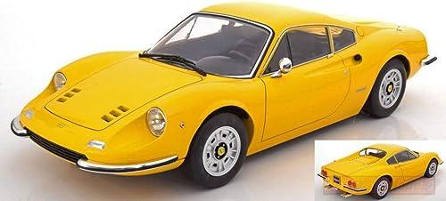 Envíos y devoluciones gratis. NEW KK Scale KKDC120022 Ferrari 246 GT GT GT Dino 1973 amarillo 1 12 MODELLINO Die Cast  70% de descuento