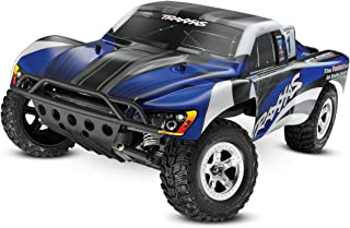 Traxxas 1/10 Slash 2WD RTR with 2.4GHz Radio (No Battery), Blue/Black