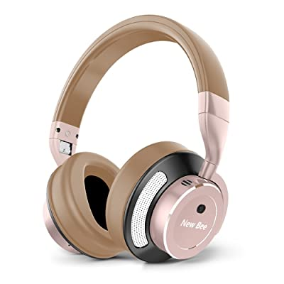 Active Noise Cancelling Headphones New Bee Wire...