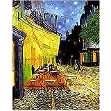 Pinturas mundialmente famosas de Van Gogh Picasso Klimt, obras de pintor, lienzo, pintura decorativa, decoración de sala de estar, 70x100cm