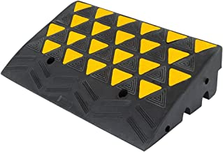 "Guardian KR36R Rubber Curb Ramp 6"" H, Single Ramp"