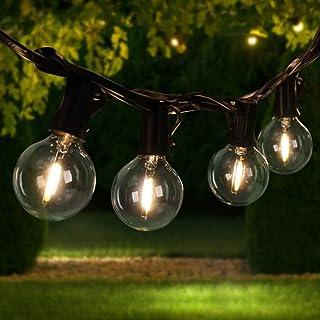 Guirnalda Luces, Tencoz 33FT LED Luces Decorativas Habitacion Impermeables Exterior Interior con Bombillas Adicionales para Jardín Navidad Boda Fiesta Casa Decoración (10m/10)