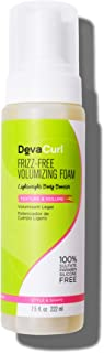DevaCurl Frizz-Free Volumizing Texture Foam, 7.5 Fl Oz (Pack of 1)