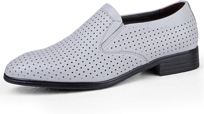 FuweiEncore 2018 Herren Business Oxford Casual Größe des des des Codes British Leder und ausgehöhlten Formelle Schuhe (Farbe   Hohles Weiß, Größe   49 EU) (Farbe   Wie Gezeigt, Größe   Einheitsgröße)  54e4cb