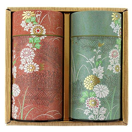 Teedose Chac-109 Teedosen Kiku, für 200g Teeblätter, aus Japan