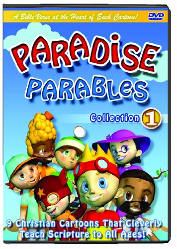 Paradise Parables 1 Scripture-Cartoon-DVDs for Kids, Cartoons for Kids-Comedy-Adventure Time-Bible Based Teaching-Cartoon Characters-Animals-Animation-Christian Music for Kids-Bible Stories-Bible Stories for Kids