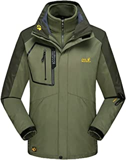 Lottaway Detachable Fleece Waterproof Outdoor Snow Ski-wear Poineer Parka Coat