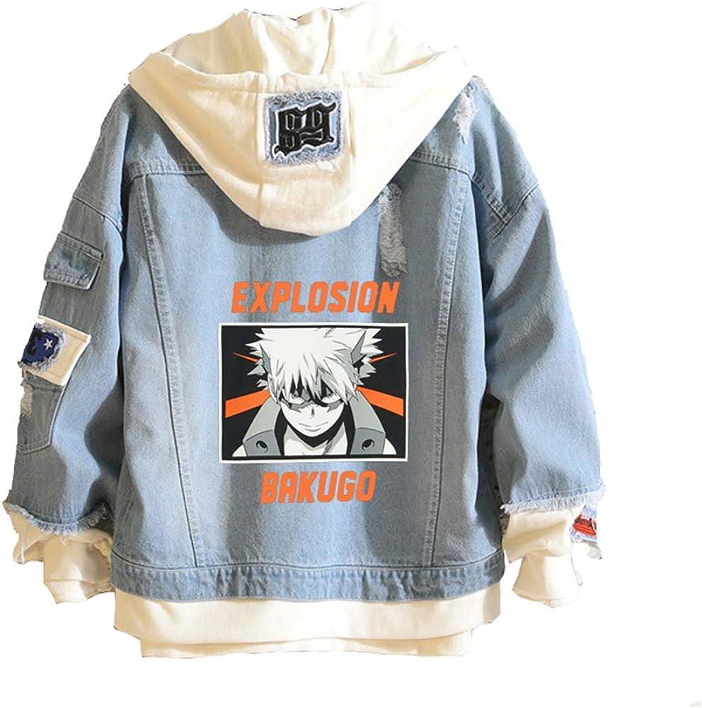 使い勝手の良い Boku No Hero Academia My Jacket 売却 Graphic Denim Hood