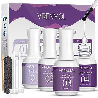 Vrenmol Dip Powder Liquid Set - 4pcs 0.5oz