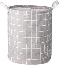 Children'S Laundry Basket Foldable Basket, Canvas Storage Basket For Laundry Basket, Toy Box, Gift Basket, Bedroom, Clothe...