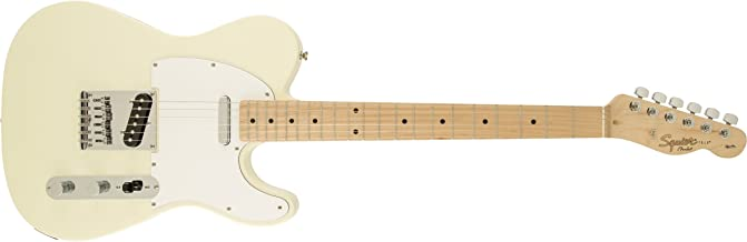 Fender 6 String Solid-Body Electric Guitar, Right Handed, Arctic White (0310202580)
