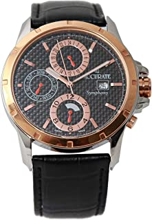 Casual Watch for Men by Accurate, Multi Color, Oval, AMQ1758RGTL