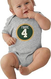 Favre # 4 Unisex Baby Bodysuit Boy Jumpsuit Onesies