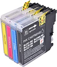 PerfectPrint - 4 cartucho de tinta Compatible reemplazar LC1100 LC980 LC 1100 LC 980 para Brother MFC-250C MFC-255CW MFC-290C MFC-295CN MFC-297C MFC-490CN MFC-5490CN MFC-5890CN MFC-790CW MFC-795CW MFC-6490CW MFC-6890CDW MFC-990CW DCP-145C DCP-163C DCP-165C DCP-167C DCP-185C DCP-195C DCP-36