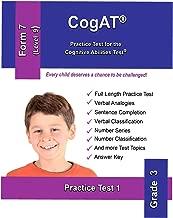 CogAT: Practice Test for the  Cognitive Abilities Test: Form 7 Level 9