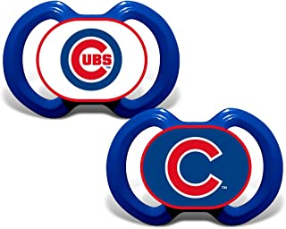 BSS - Chicago Cubs MLB Baby Pacifiers (2 Pack)