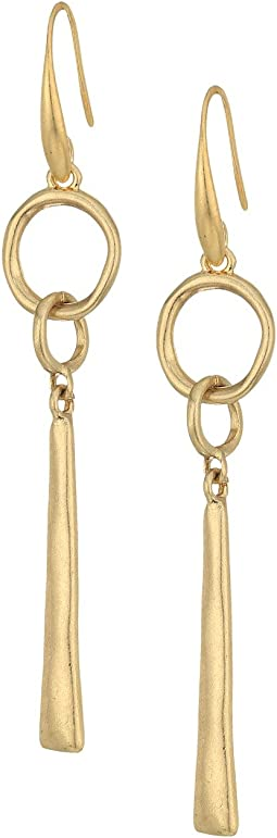 The Sak - Linked Linear Earrings