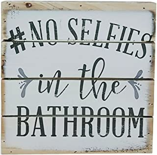 bathroom signs shabby chic