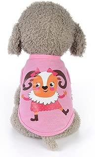 Summer Unisex Pet Clothes Animals Cartoon Vest Tracksuit Dog Puppy Classic Costumes Pet Clothes