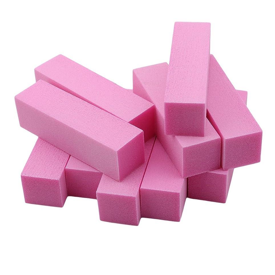 一般的にライトニング酸化物JIOLK ブロックバッファー 爪磨き スポンジネイルファイル ジェルネイルバッファー 爪やすり 爪磨き 4面 10本セット ネイルケアセット ネイルケア やすり