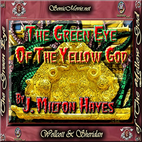 The Green Eye of the Yellow God audiobook cover art