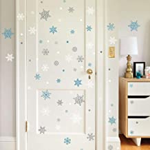 Paper Riot Co. Snowflake Peel and Stick Wall Decals and Decor. Easy to Apply and Easy to Remove.