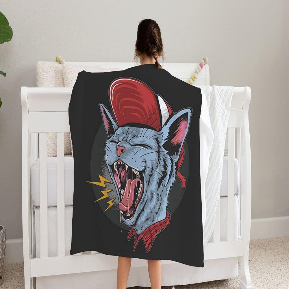 Popular products LPVLUX Cat Kitty overseas Scream Over Rock Soft Super Cozy and Fleece Bla