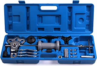 ECCPP Slide Hammer Puller Bearing Removal Tool Kit Internal and External 3 Jaw Puller Grip Wrench Adapter Fit for Flange-Type Rear Axles