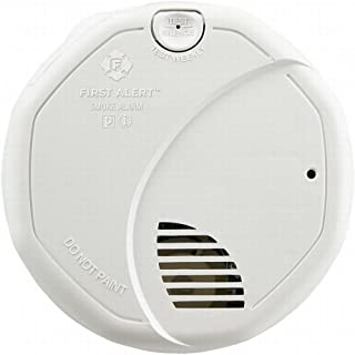 First Alert 3120B 2 Pack Hardwire Dual Photoelectric and Ionization Sensor Smoke Alarm with Battery Backup, White
