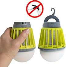 EZ Zap 2 EZZAP 2 Pack Zapper Rechargeable LED Lamp Killer Light Bee Z, Neon Green
