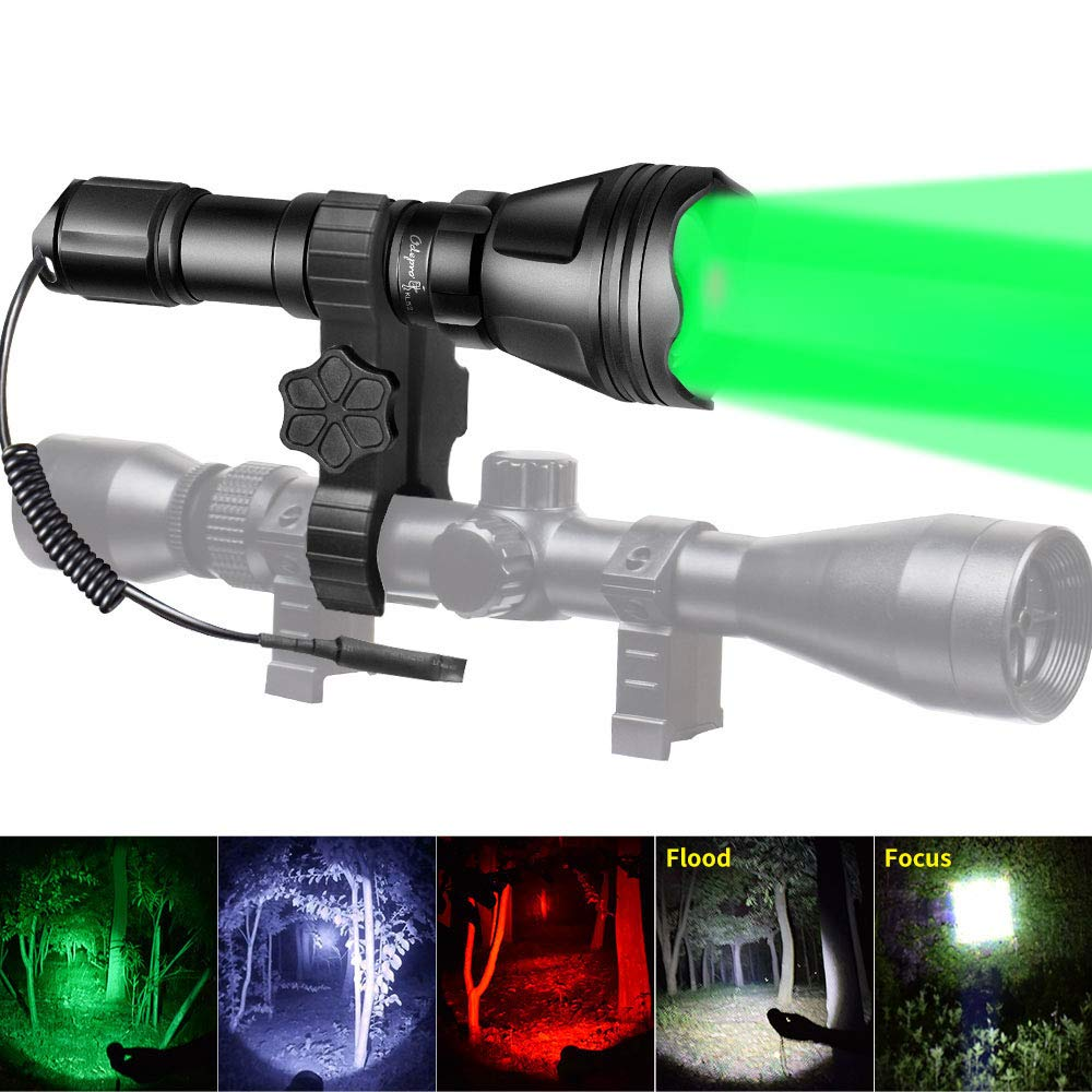 Odepro KL52Plus Zoomable Flashlight Packaging