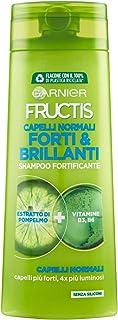 Garnier Shampoo Fructis Capelli Normali, Concentrato Attivo di Frutti, Capelli Forti e Brillanti, 250 ml