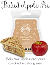 Scentsy Bar, Baked Apple Pie, Wickless Candle Tart Warmer Wax 3.2 fl. oz. 8 squares