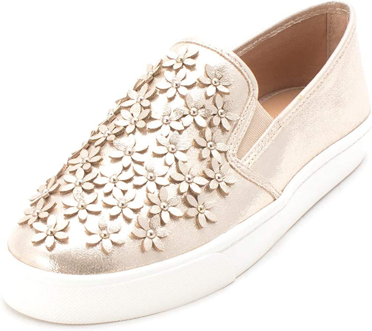 INC International Concepts Womens Sammee6 Low Top Slip On Fashion Sneakers