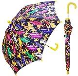 RainStoppers Boy's Hot Car Print Umbrella, 34-Inch, Multicolored (W104CHHOTCA)