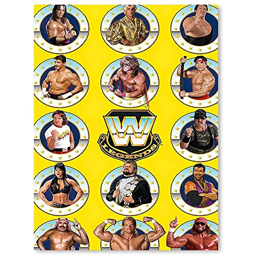 Canvas Oil Painting Canvas Wall Pictures WWE Legends Wall Art Home Decor Decals Poster 18x24inch
