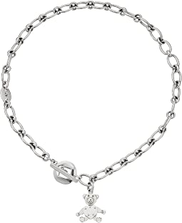 Pomellato 67 - Teddy Bear T-Bar Necklace 44cm
