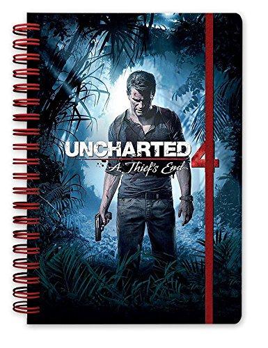 Uncharted Cuaderno de Notas DIN A5 4'Portada