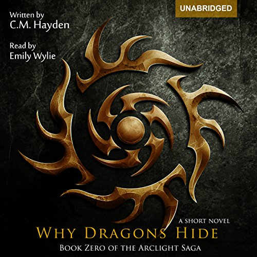 Why Dragons Hide audiobook cover art