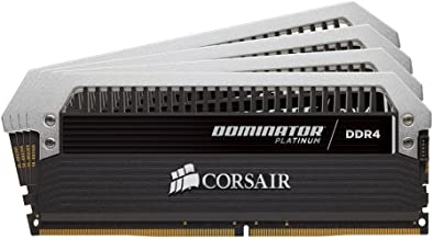Corsair Dominator Platinum 64GB (4x16GB) DDR4 2400MHz C14 Desktop Memory