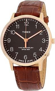 Timex Waterbury Classic 40mm Gold Brown