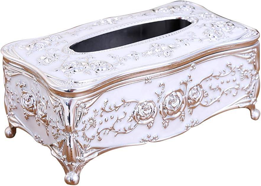 HELYZQ Mail order Popularity cheap Acrylic Tissue Box Universal European O Rack Luxury Paper