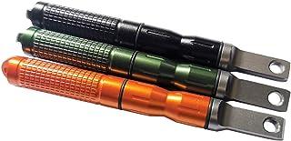 3PCS Compact Fire Starter Sticks with Scraper Striker Fire Steel Strikes Survival Ferro Rod Flint Fire Steel Spark Magnesi...