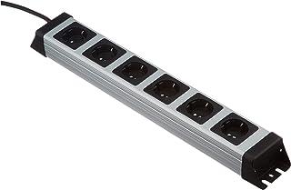 Kopp 226720018 Listwa Zasilająca z 4 Gniazdami 3600 W, Biały/Czarny 1,4 m