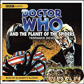 Doctor Who and the Planet of the Spiders audiobook cover art