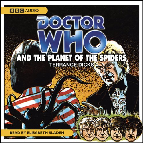 『Doctor Who and the Planet of the Spiders』のカバーアート
