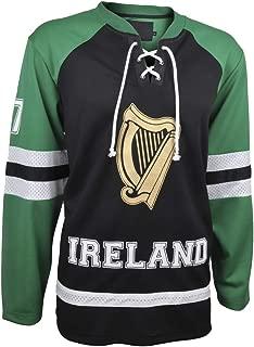 Croker Ireland Hockey Jersey Black & Green