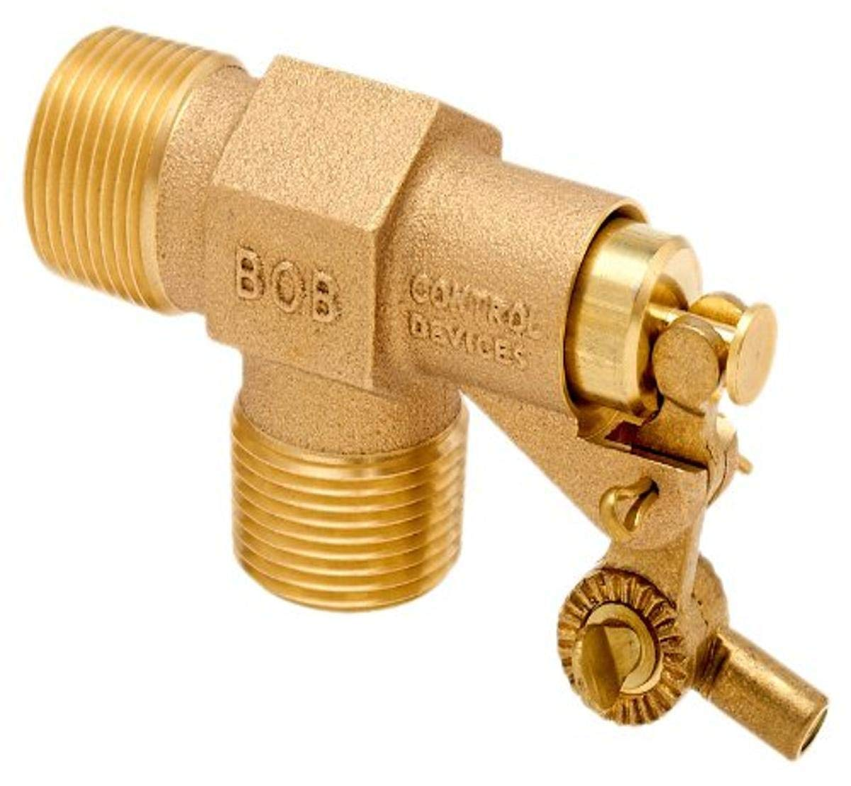 125 psi Pressure 1//4 Compression Wing Nut Inlet x Free Flow Outlet Robert Manufacturing 107 Series Bobby Brass Valve Reservoir Assembly 0.052 Orifice