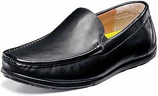 حذاء بدون رباط للرجال مطبوع عليه رسم فينيسي