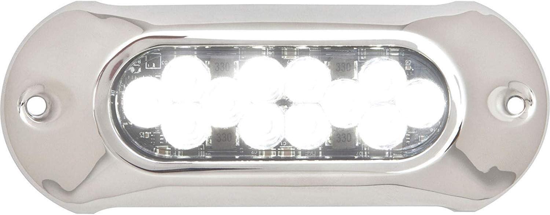 attwood 66UW12W-7 Lightarmor Ultra-Bright New sales 12-LED 5 Omaha Mall HPX 000 Lumen